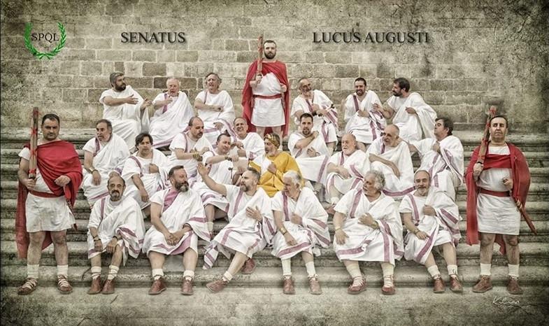 El erotismo y la sensualidad de una meretriz desafían al Senado del Arde Lucus