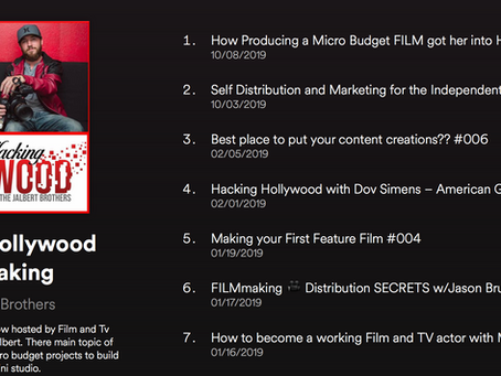 New Filmmaking Podcast Hacking Hollywood!