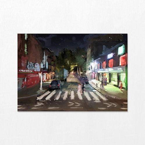 If not now, then when - New York Crosswalk