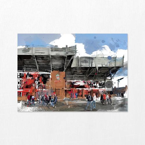The Kop - Anfield Football Stadium