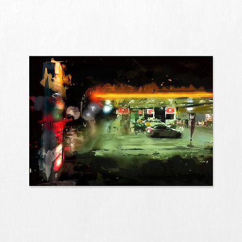 The Journey - Petrol station forecourt