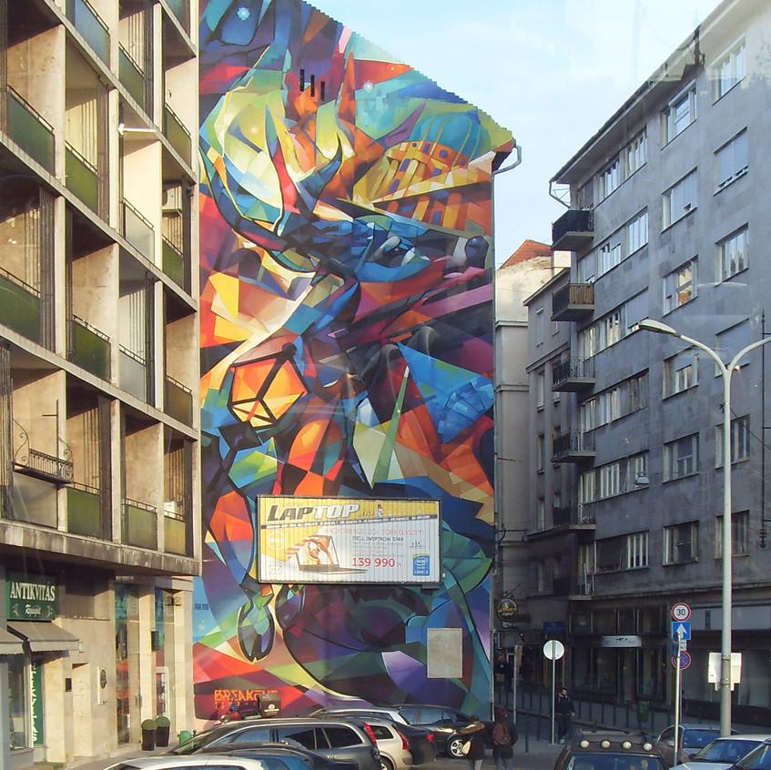 Budapest Vivid Street Art