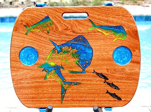 Dolphin Fish.- Sapele