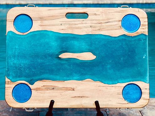 Aquamarine Sandbar  Beach Table