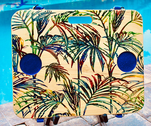 Rainbow Palms with two cup holders