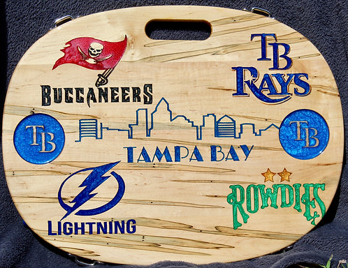 Tampa Teams - Oval Table