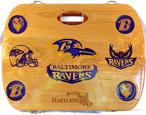 Baltimore Ravens w/LED Lighting