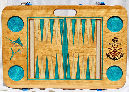 Green - Backgammon Game - Cherry