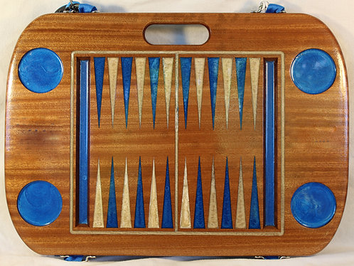 Backgammon Game - Sapele