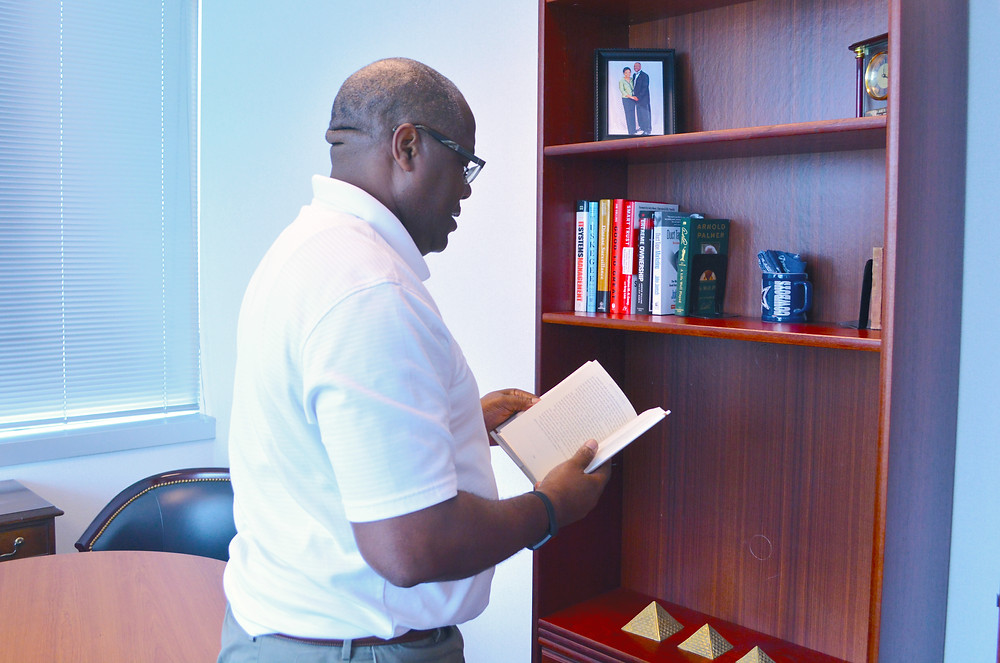 Founder, President and CEO Darryl W. Green shows us some of his favorite books