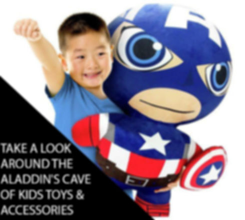 CAPTAIN AMERICA INFLATABLE PLUSH TOY