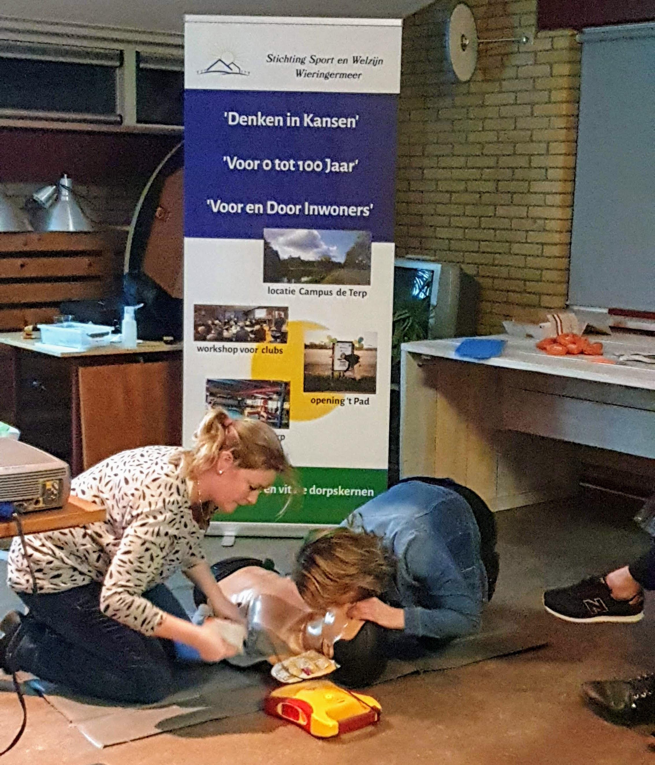 Reanimatie AED in Wieringermeer