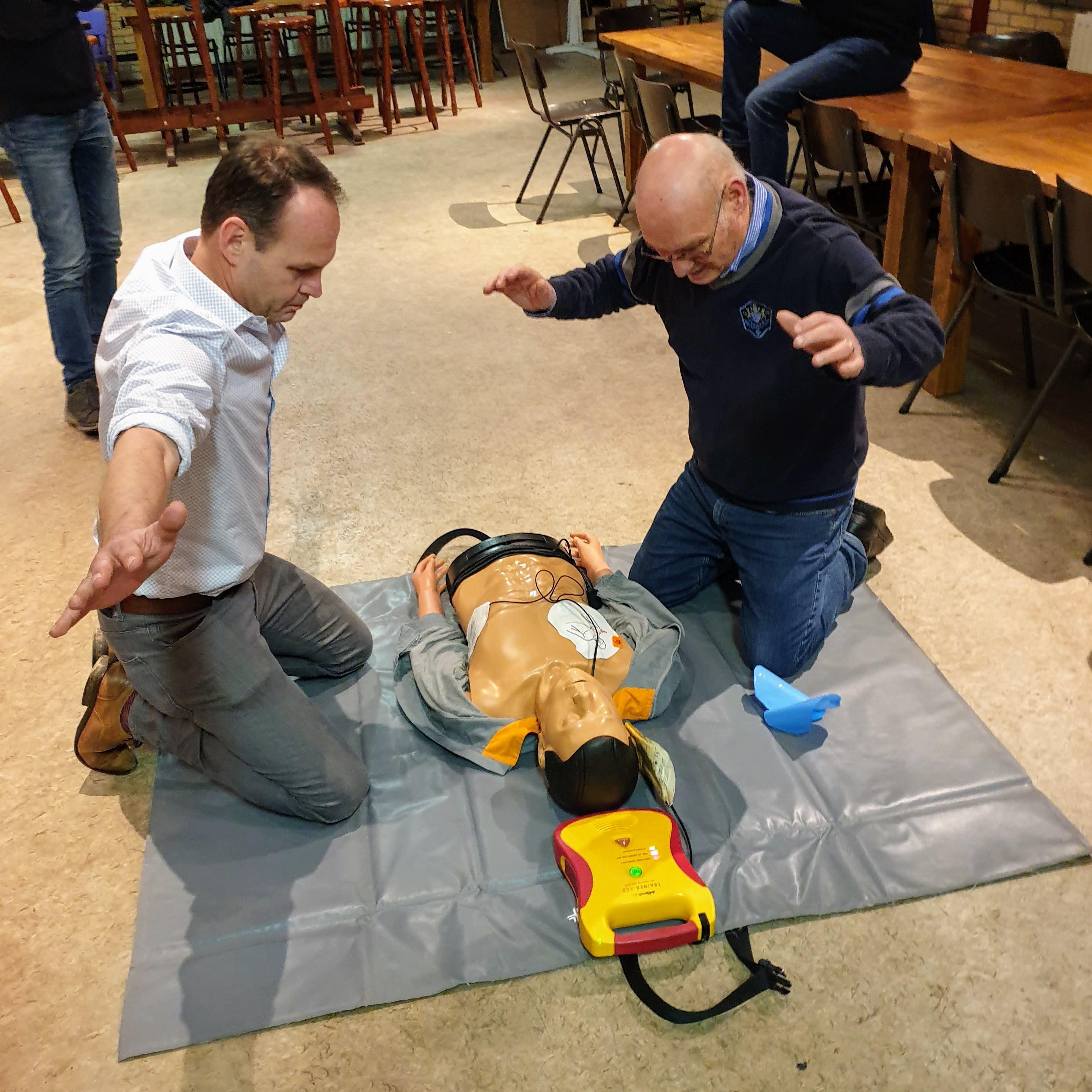 Reanimatie AED in Wieringermeer (2)