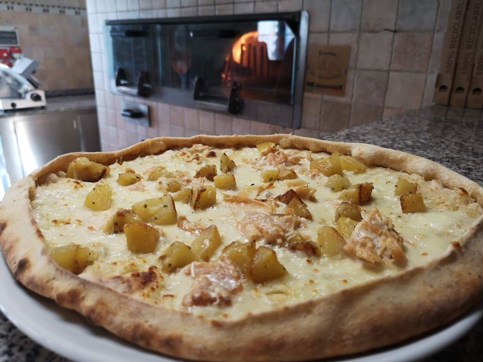 PIZZA PATATE BACCALA