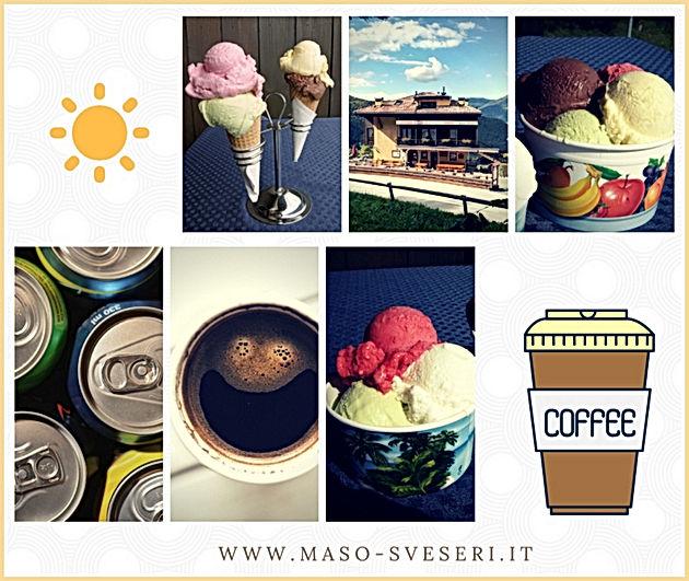 gelati, bibite caffè take away