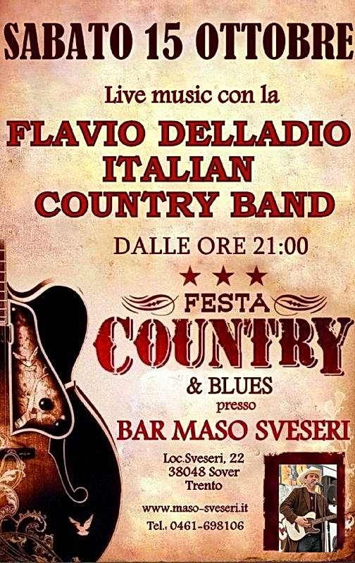 evento country, flavio delladio, maso sveseri