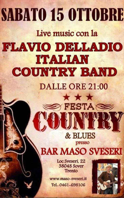 evento country, flavio delladio, maso sveseri