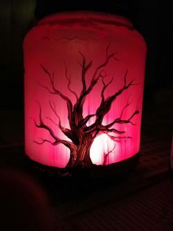 lanterna halloween handmade