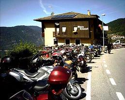 moto, ristorante, bikers, hotel