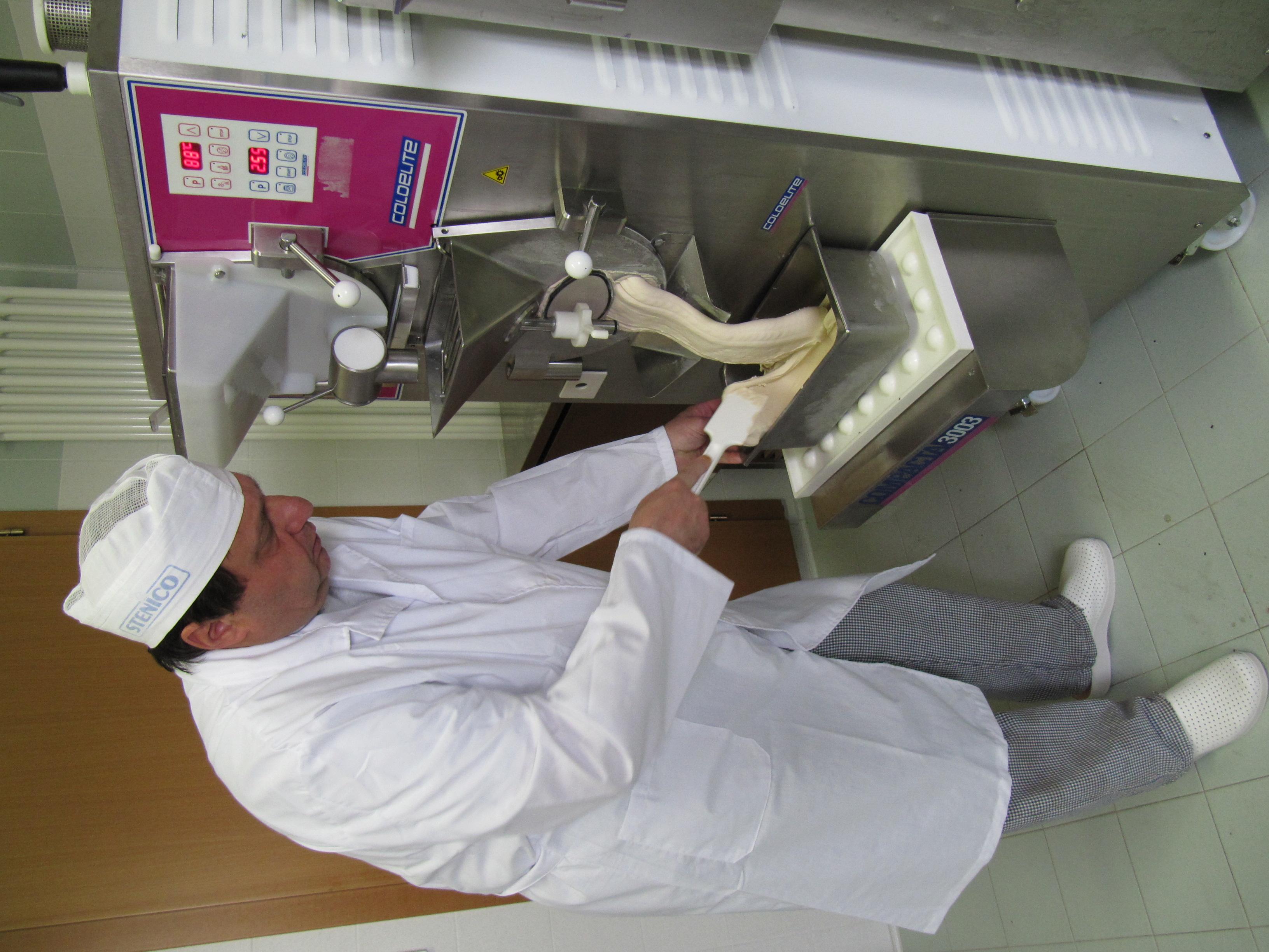 Produzione gelato