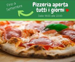 pizza aperto fino a settembre