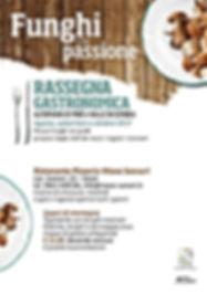 Menu funghi, maso sveseri, ristorante italiano