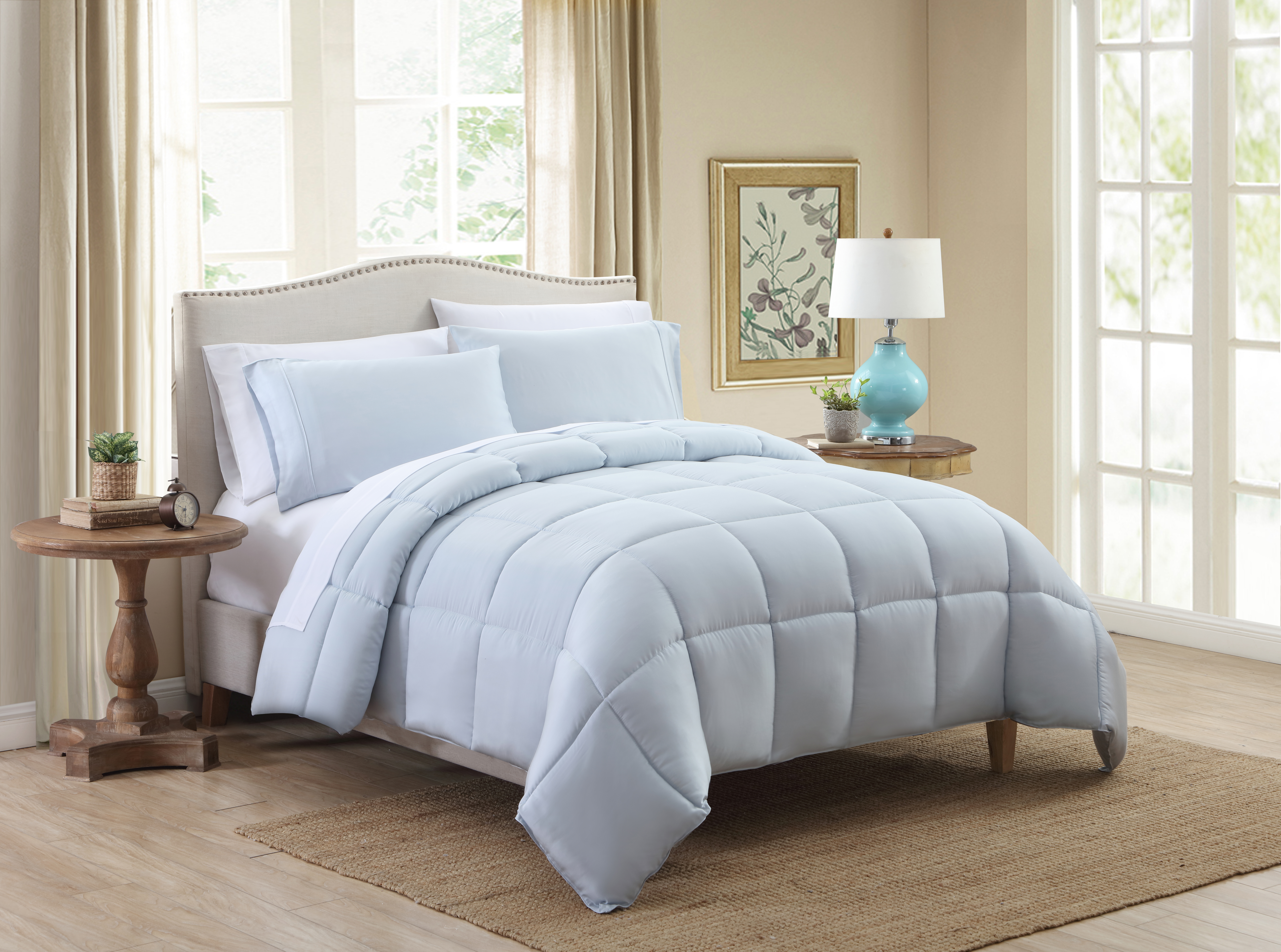 Kohl's Comforter blue (2)