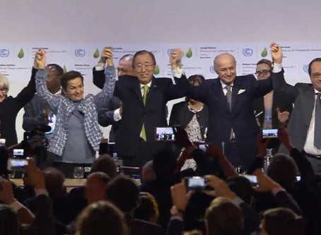 Landmark Climate Change Agreement has been signed in Paris: A good start but not the end