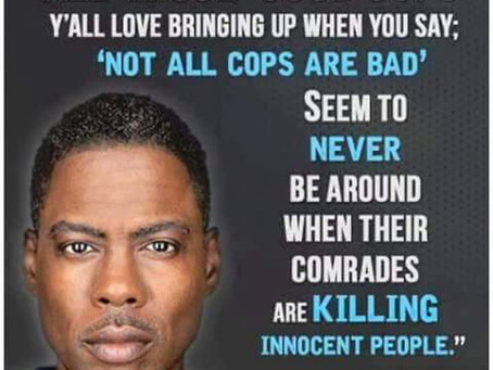 """The Bishop Is Crossing aka """"The Silent Majority: Where are the """"Good Cops""""?"""""""