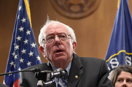 Bernie Sanders meets with the Congressional Black Caucus