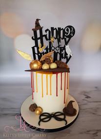 Harry Potter Drip Cake