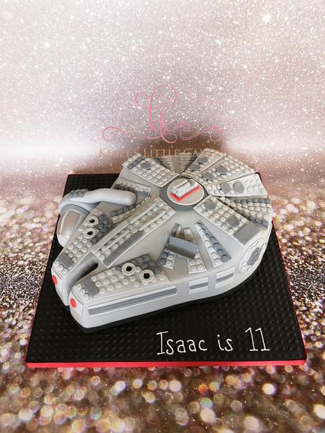 Millenium Falcon Lego Cake