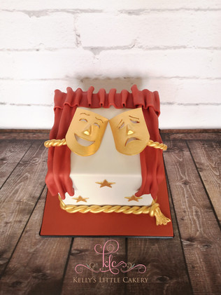 Drama/Theatre Cake