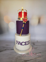 Crown and Septre Cake