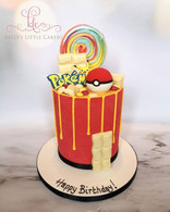 Pokémon Drip Cake