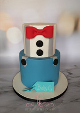 Bow Tie and Braces Cake