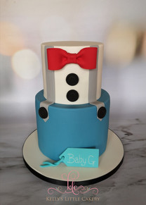 Bow Tie and Braces Cake
