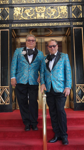 Harry and Gary at the Waldorf