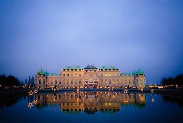 vienna-Belvedere avond - Bureau Amadeus