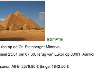 8 daagse reis egypte en 14 daagse reis kreta
