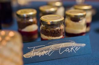 Hochzeitstorte und Sweets für eine winterliche Hochzeit