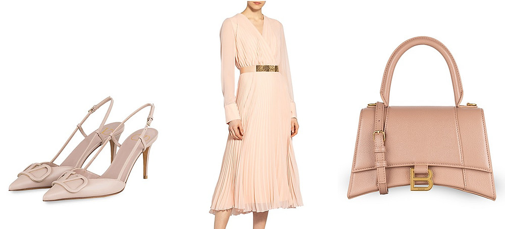 Outfit Brautmutter in Nude