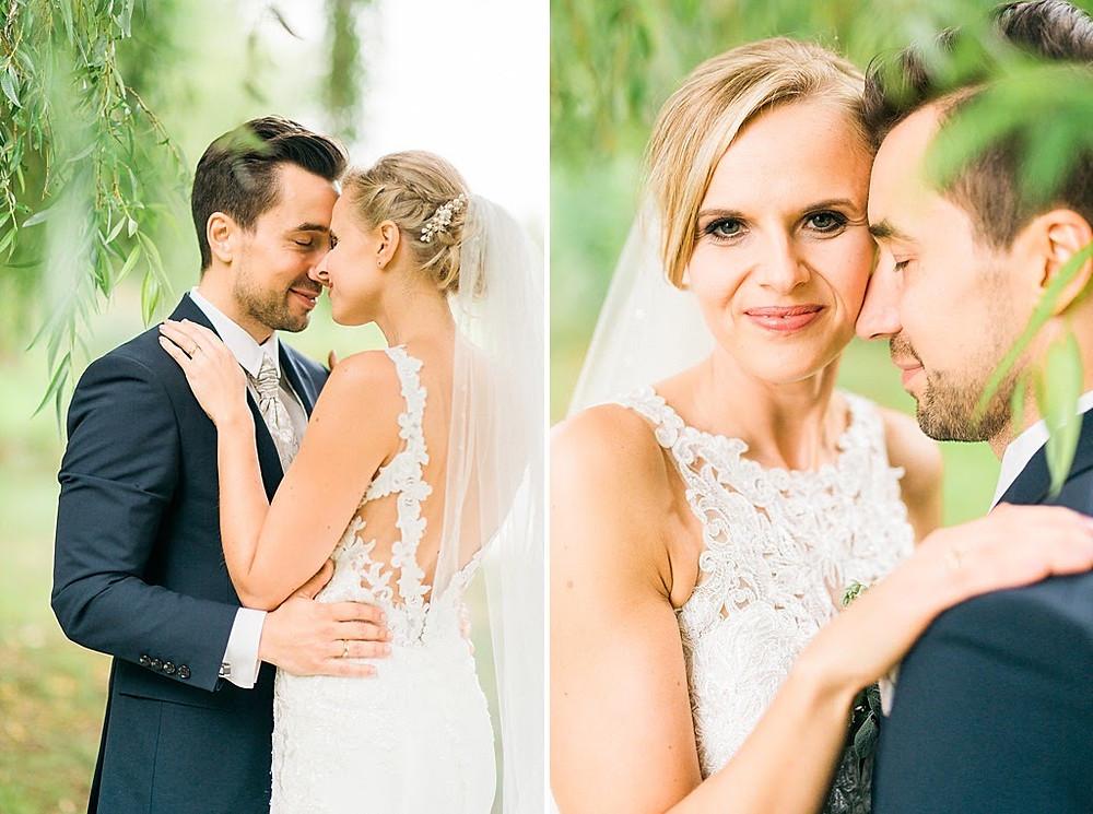 Brautpaar Gartenhochzeit