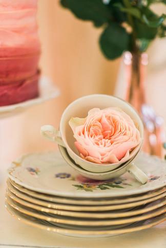 britische Tea Time für Deine Gartenhochzeit im Sommer