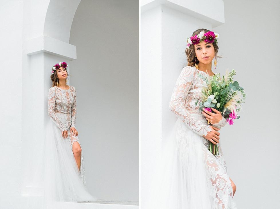 Editorial for Ibiza Bridal Week