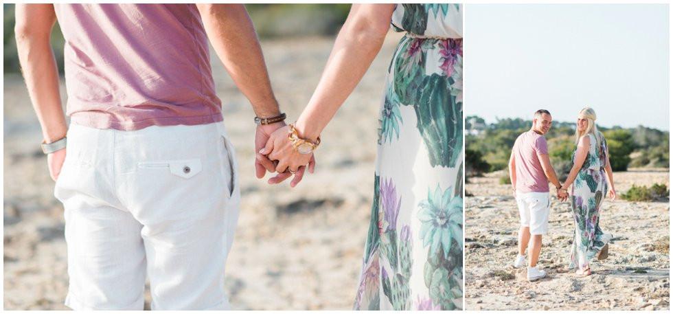 Engagement shoot on Ibiza