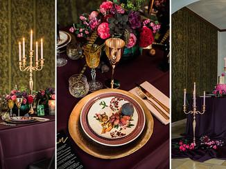 Colorful Decadence - eine herbstliche Tischdekoration