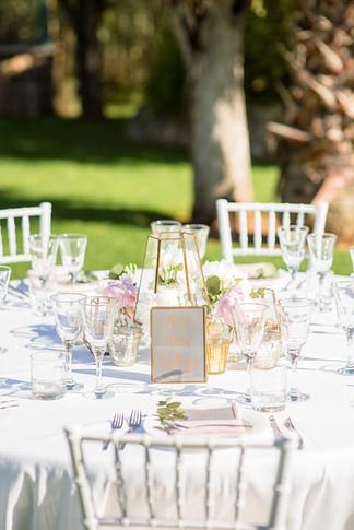 Sommerhochzeit Gartenhochzei Tischdeko Ideen