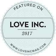 Featured on Love Inc Magazine