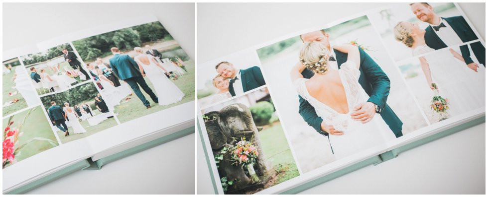handmade wedding album